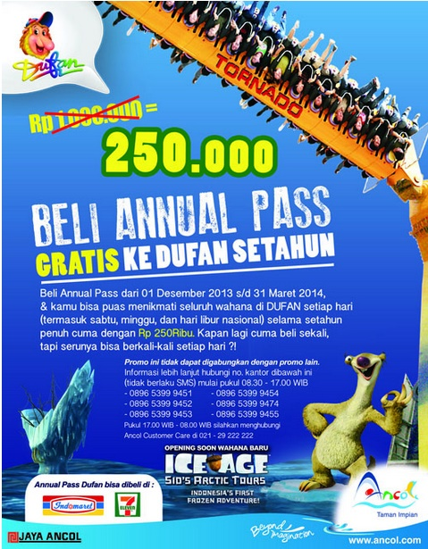 Dufan Annual Pass