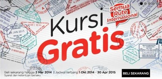 Promo Free Seats AirAsia