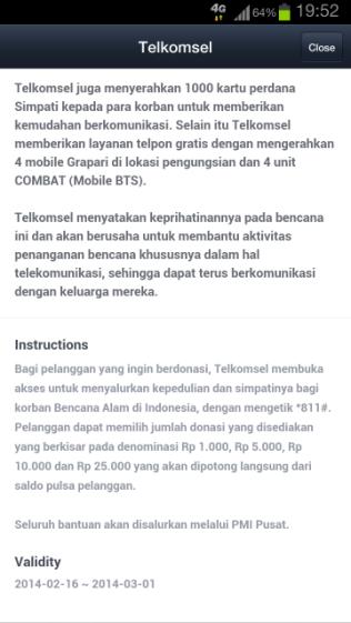 Cara Donasi
